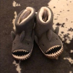 Bnwt shark slippers from Hanna Andersson